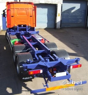 Intermodal and container chassis installations