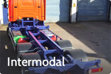 Photography of Intermodal and container chassis installations