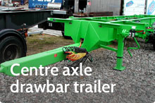 Photography of Centre axle drawbar trailer