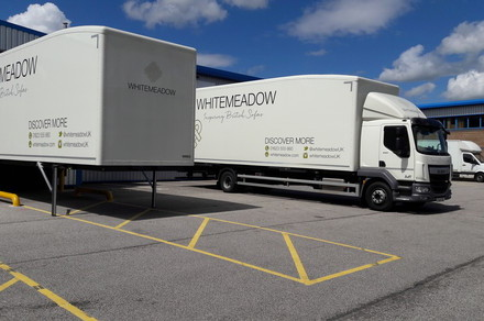 Whitemeadows van and chassis.